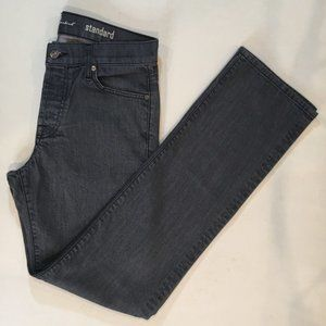 7 for All Mankind Men's Gray Jeans Standard Sz 30